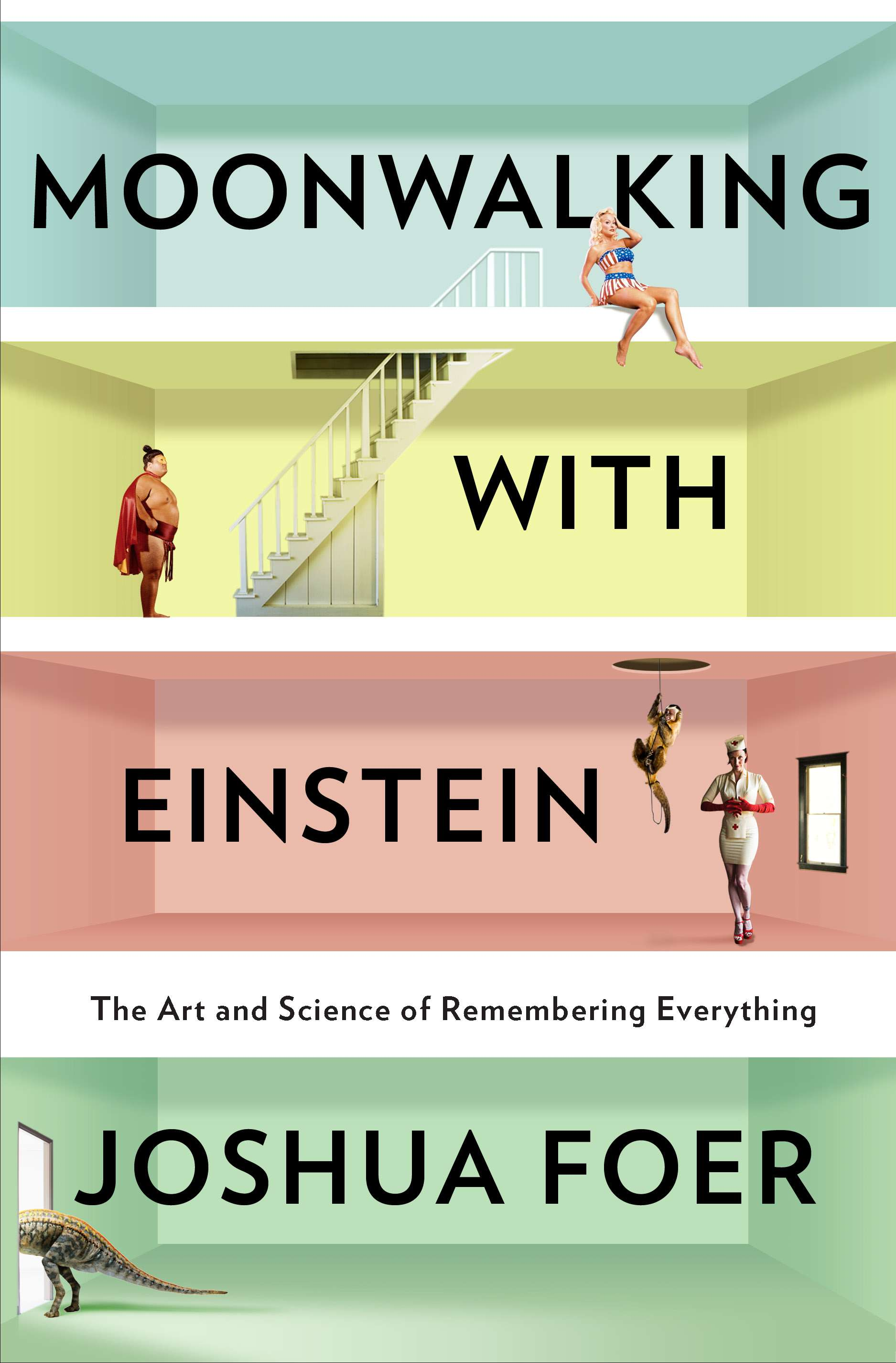 Pretty Book Cover Names ~ Moonwalking with einstein book review